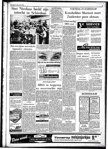 Rotterdamsch Parool / De Schiedammer 1961-11-27