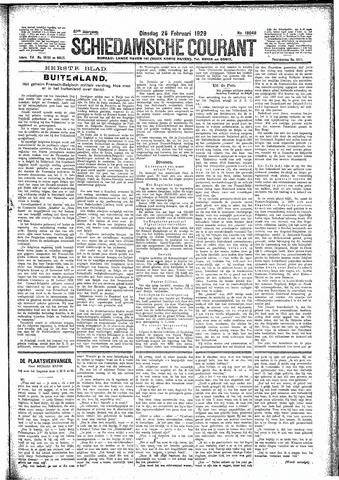 Schiedamsche Courant 1929-02-26