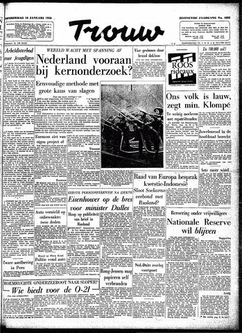 Trouw / De Rotterdammer 1958-01-16