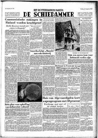 Rotterdamsch Parool / De Schiedammer 1949-08-19