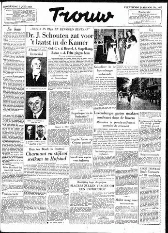 Trouw / De Rotterdammer 1956-06-07