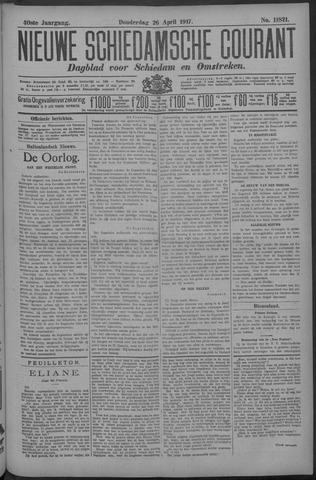 Nieuwe Schiedamsche Courant 1917-04-26