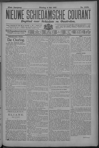 Nieuwe Schiedamsche Courant 1917-05-08