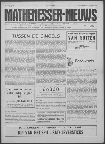 Mathenesser Nieuws 1963-01-17