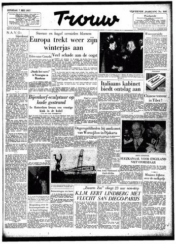 Trouw / De Rotterdammer 1957-05-07