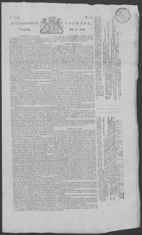 Rotterdamse Courant 1826-06-27