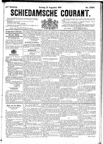 Schiedamsche Courant 1910-08-21