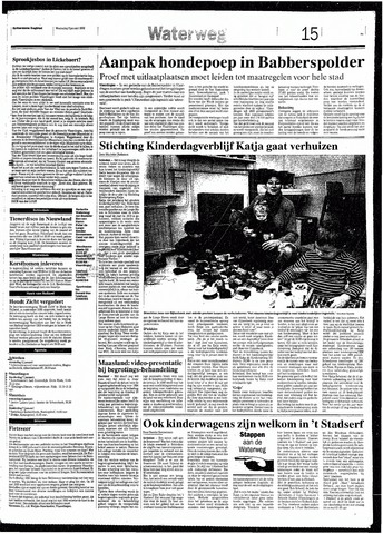 Rotterdamsch Nieuwsblad / Schiedamsche Courant / Rotterdams Dagblad / Waterweg / Algemeen Dagblad 1993-01-06