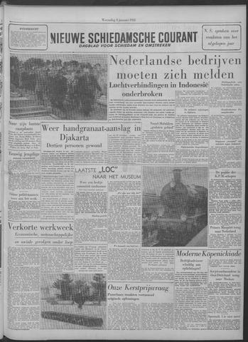 Nieuwe Schiedamsche Courant 1958-01-08
