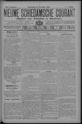 Nieuwe Schiedamsche Courant 1913-11-13