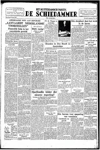 Rotterdamsch Parool / De Schiedammer 1947-06-30