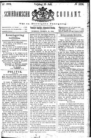 Schiedamsche Courant 1881-07-15