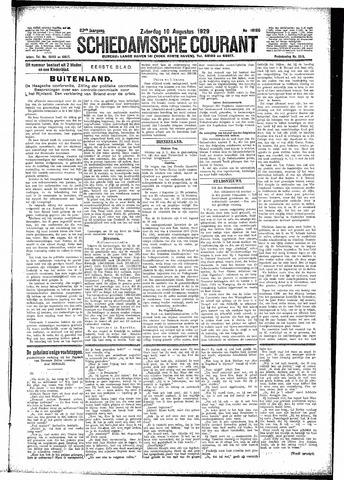 Schiedamsche Courant 1929-08-10