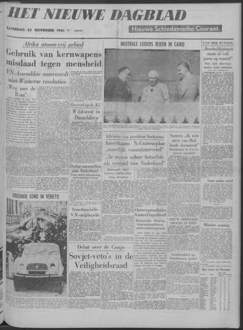 Nieuwe Schiedamsche Courant 1961-11-25