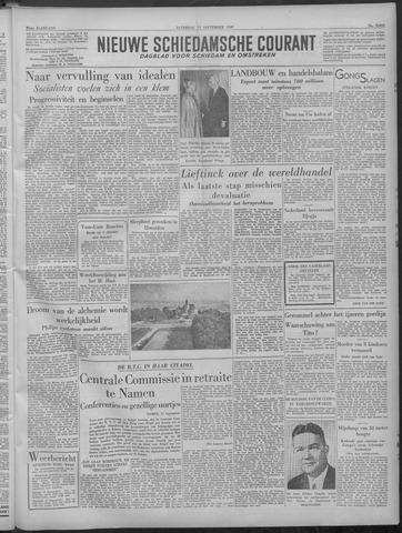Nieuwe Schiedamsche Courant 1949-09-17