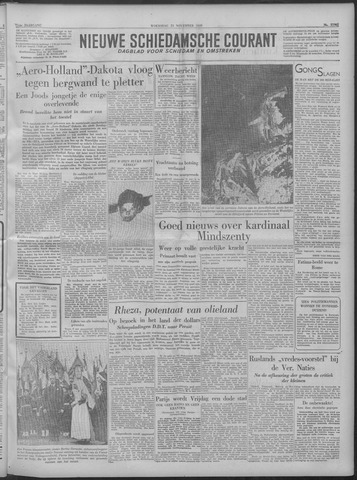 Nieuwe Schiedamsche Courant 1949-11-23