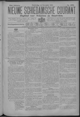 Nieuwe Schiedamsche Courant 1918-11-14