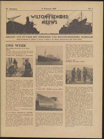 Wilton Fijenoord Nieuws 1949-02-01