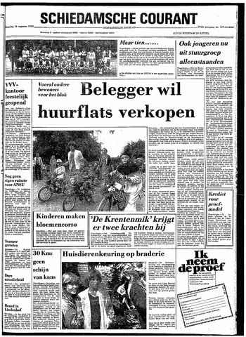 Rotterdamsch Nieuwsblad / Schiedamsche Courant / Rotterdams Dagblad / Waterweg / Algemeen Dagblad 1980-08-18