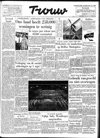 Trouw / De Rotterdammer 1956-08-25