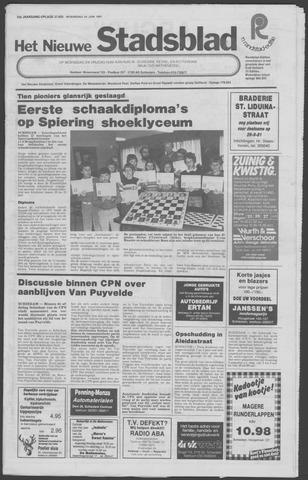Het Nieuwe Stadsblad 1981-06-24