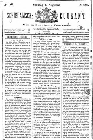 Schiedamsche Courant 1877-08-27