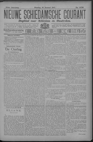 Nieuwe Schiedamsche Courant 1917-01-16