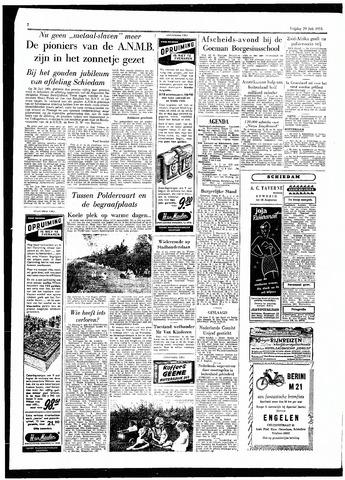 Rotterdamsch Parool / De Schiedammer 1955-07-29