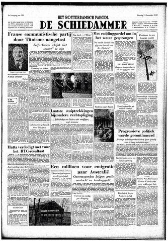 Rotterdamsch Parool / De Schiedammer 1949-12-13