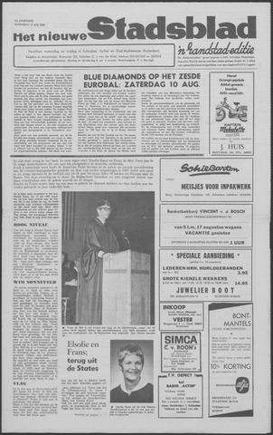 Het Nieuwe Stadsblad 1968-07-31