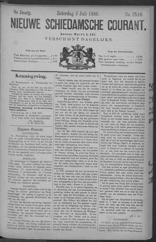 Nieuwe Schiedamsche Courant 1886-07-03