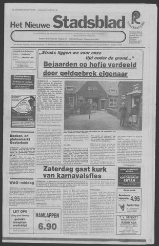 Het Nieuwe Stadsblad 1981-02-25