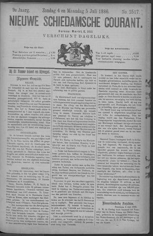Nieuwe Schiedamsche Courant 1886-07-05