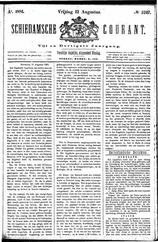 Schiedamsche Courant 1881-08-12