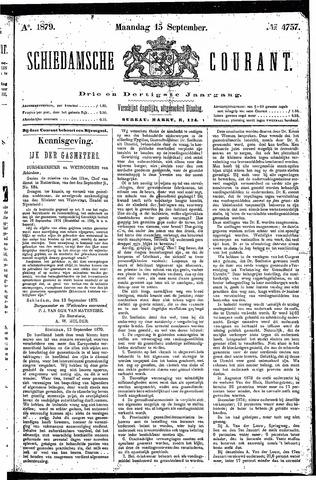 Schiedamsche Courant 1879-09-15