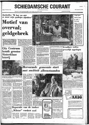 Rotterdamsch Nieuwsblad / Schiedamsche Courant / Rotterdams Dagblad / Waterweg / Algemeen Dagblad 1974-11-08