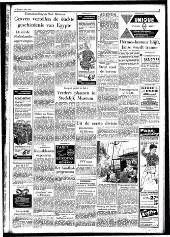 Rotterdamsch Parool / De Schiedammer 1962-04-13