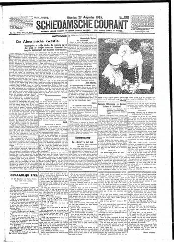 Schiedamsche Courant 1935-08-27
