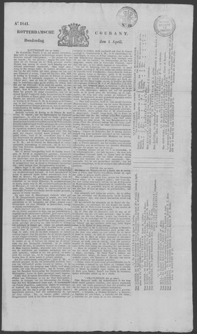 Rotterdamse Courant 1841-04-01