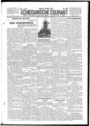 Schiedamsche Courant 1933-05-26