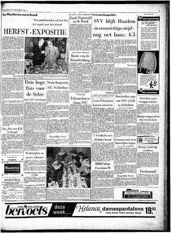 Rotterdamsch Parool / De Schiedammer 1963-10-21