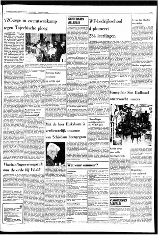 Rotterdamsch Nieuwsblad / Schiedamsche Courant / Rotterdams Dagblad / Waterweg / Algemeen Dagblad 1968-10-07