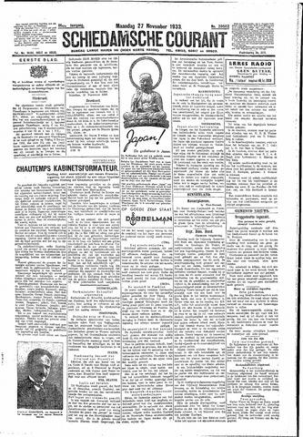 Schiedamsche Courant 1933-11-27