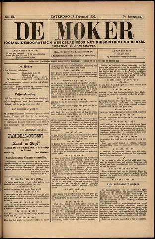 De Moker 1910-02-19