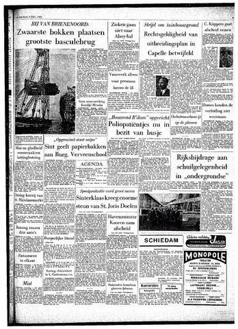 Rotterdamsch Parool / De Schiedammer 1962-12-05