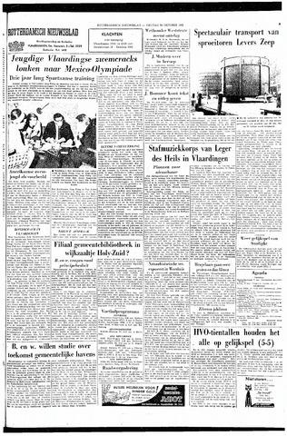 Rotterdamsch Nieuwsblad / Schiedamsche Courant / Rotterdams Dagblad / Waterweg / Algemeen Dagblad 1965-10-29