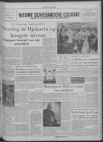 Nieuwe Schiedamsche Courant 1958-02-21