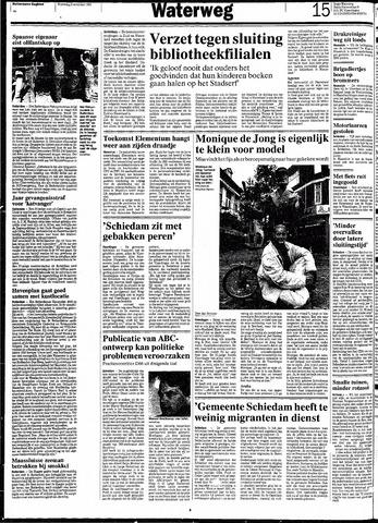 Rotterdamsch Nieuwsblad / Schiedamsche Courant / Rotterdams Dagblad / Waterweg / Algemeen Dagblad 1991-11-06