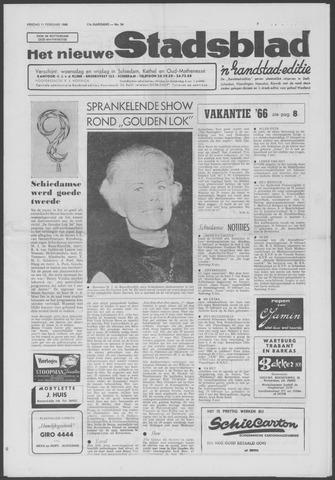 Het Nieuwe Stadsblad 1966-02-11