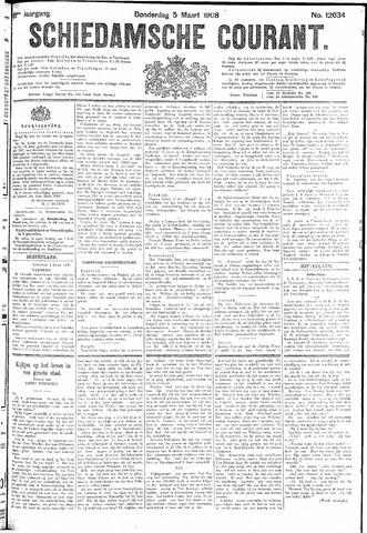 Schiedamsche Courant 1908-03-05
